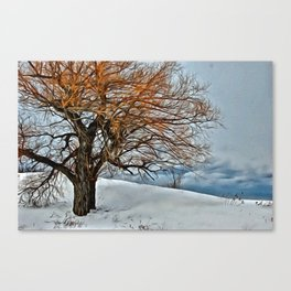 Painted Landscape Canvas Print