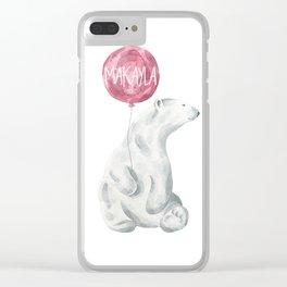 mak 3 Clear iPhone Case