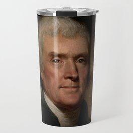 portrait of Thomas Jefferson by Rembrandt Peale Travel Mug