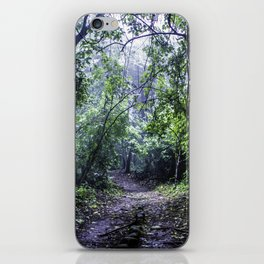 Misty Trail in the Rainforest of the Chocoyero-El Brujo Nature Reserve in Nicaragua iPhone Skin
