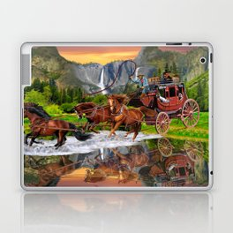Wells Fargo Stagecoach Laptop & iPad Skin