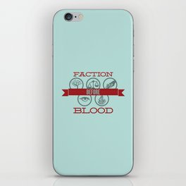 Faction Before Blood iPhone Skin