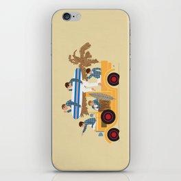 Surfin Safari iPhone Skin