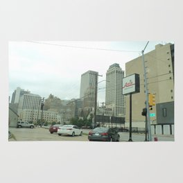 A Perspective of Downtown Tulsa Rug