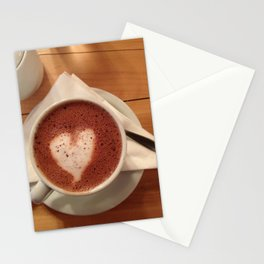 Love Hot Chocolate Stationery Cards