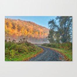 Misty Autumn McDade Trail Canvas Print