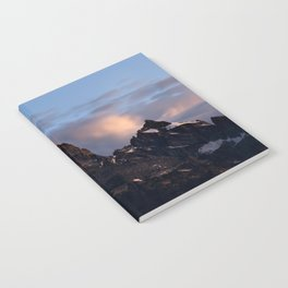 Grand Teton Just Before Dawn Notebook