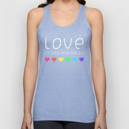Love Is The Majority (Color) Unisex Tank Top