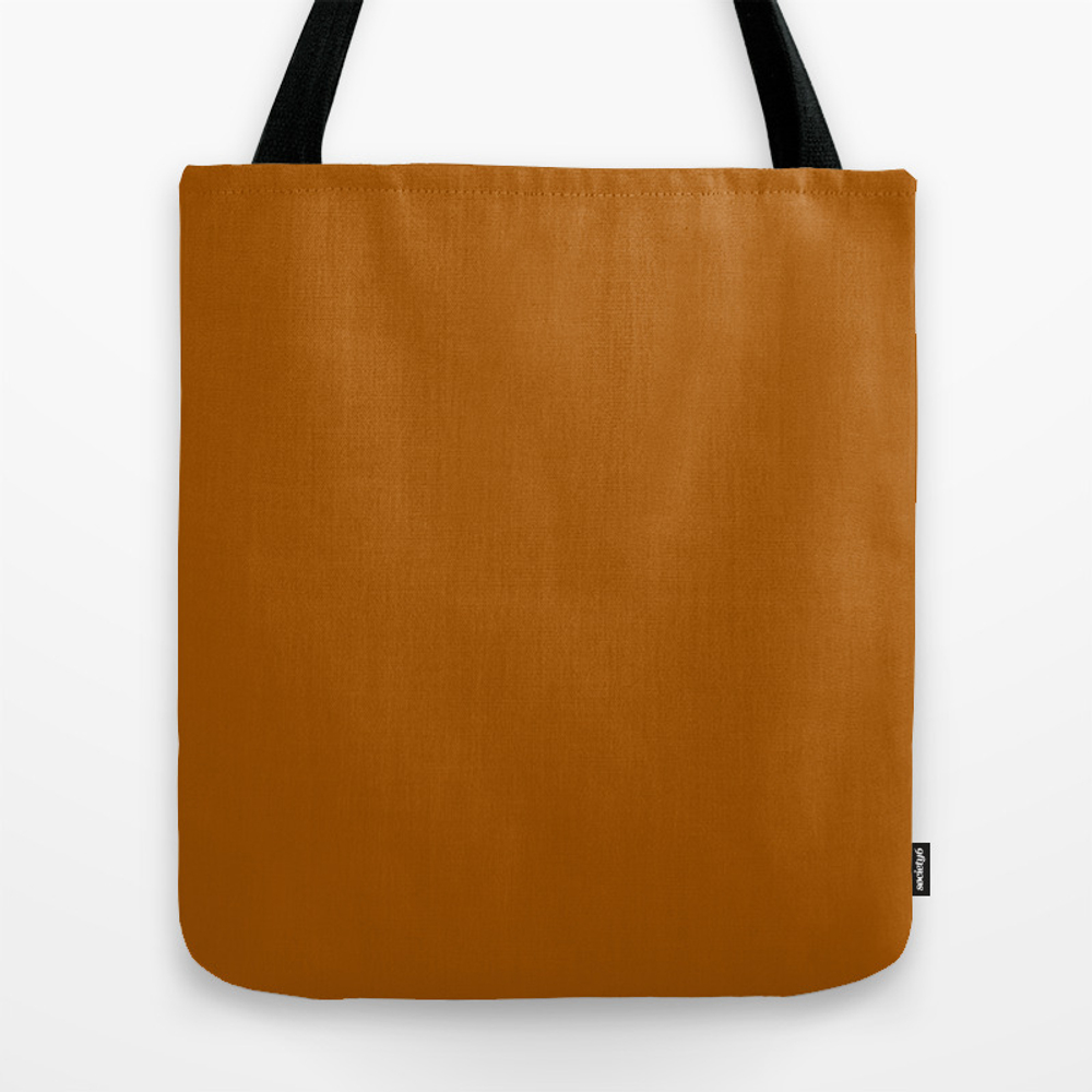 Windsor Tan - Solid Color Travel Tote by Makeitcolorful TBG8744137