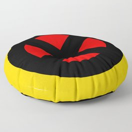 The X logo Floor Pillow