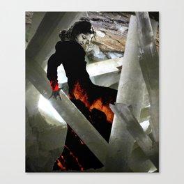 Carbon Amaya Canvas Print