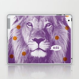 Löwe No. 2 (Miau) Laptop & iPad Skin