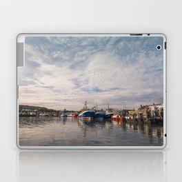 Irish landscape in Howth Laptop & iPad Skin