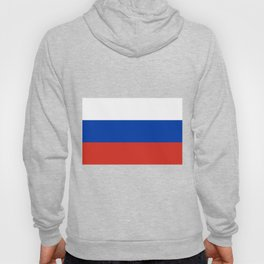 Russian Flag In Red White And Blue Hoody