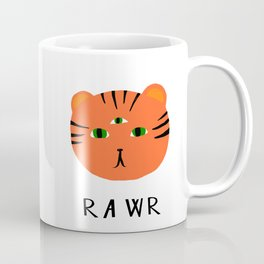 tiger says rawr! Coffee Mug
