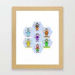 Fairy Friends 1 Framed Art Print