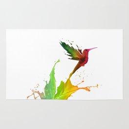 Humming Bird Colors Rug