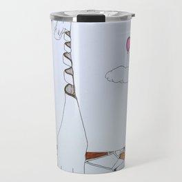the sky is the limit Travel Mug