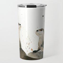 Otters Travel Mug