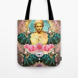 softest romantic rose queen Tote Bag