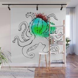 Cactopus Wall Mural