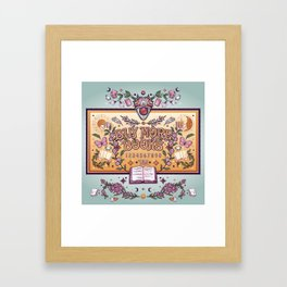 Buy More Books Framed Art Print