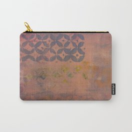 Lavender and Rose Carry-All Pouch
