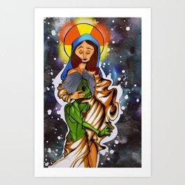 Lady Madonna  Art Print