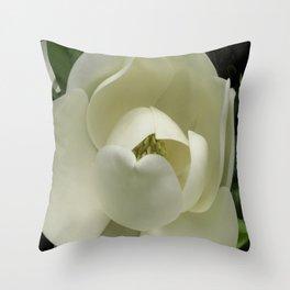 Fleur de Magnolia Throw Pillow