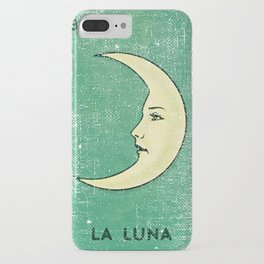 La Luna Mexican Loteria Bingo Card iPhone Case