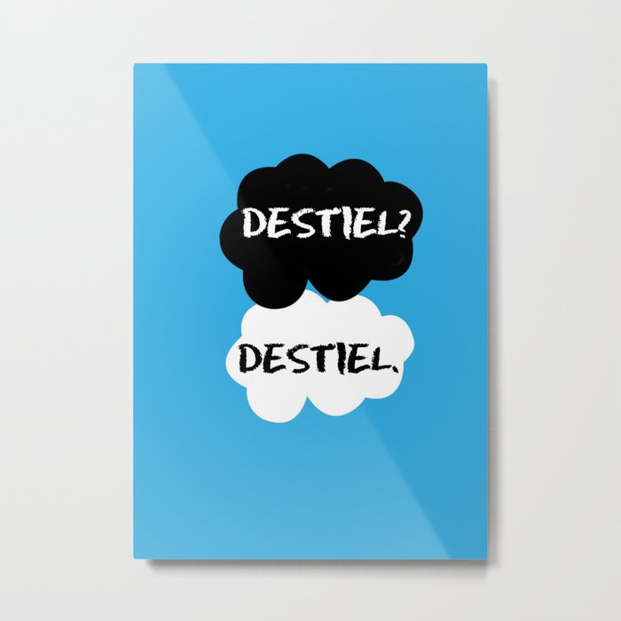 Destiel - TFIOS Metal Print