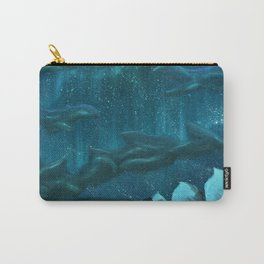 Winter's Kiss Carry-All Pouch
