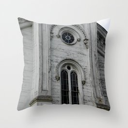 Church 3, Berkshires Throw Pillow