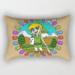 Hyrule Adventurer Rectangular Pillow