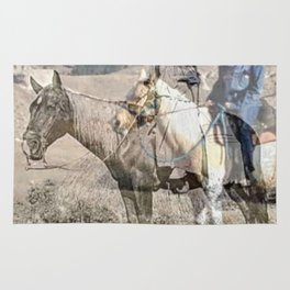 She never rides alone Rug