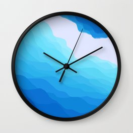 Icy Abyss Wall Clock