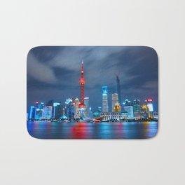 Shangai, China Bath Mat