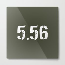 5.56 Ammo Metal Print