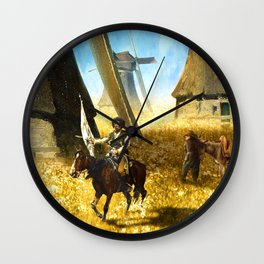 Giants on the Plains Wall Clock