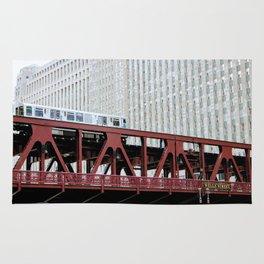 Chicago Train Rug
