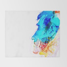 Anatomy Quain v2 Throw Blanket