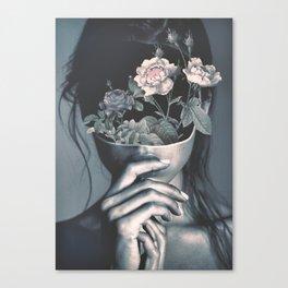 inner garden Canvas Print