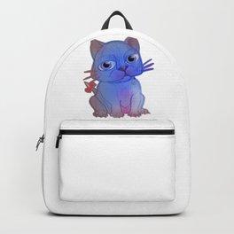 My Purple Vanda Cat Pet Backpack