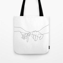 Pinky Swear Tote Bag