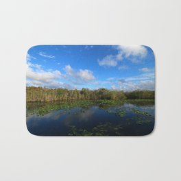 Blue Hour In The Everglades Bath Mat