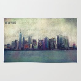 A City In Limbo Rug