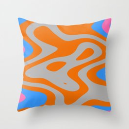 Walking man Throw Pillow