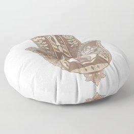 Hamsa Hand Faded Colour Floor Pillow