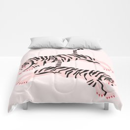 fierce females Comforters