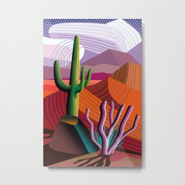 Black Canyon Desert Metal Print